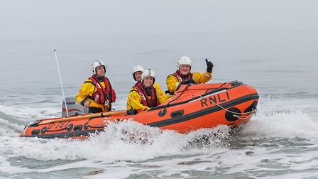 Wells RNLI Lifeboat coxswain. Picture: CHRIS TAYLOR