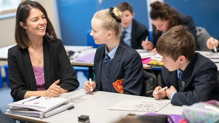 An inspection was carried out at Dereham Neathered High School by the education watchdog between Feb