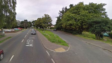 The alleged assault happened at a lay-by in Stalham Road, Hoveton. Picture: Google StreetView