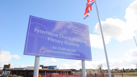 Peterhouse Primary School has been closed as a 'precautionary measure'. Picture: James Bass