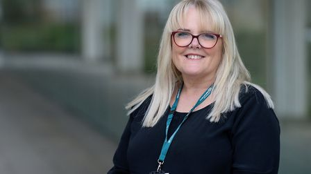 Diane Hull, chief nurse at Norfolk and Suffolk Foundation Trust (NSFT). Picture: NSFT