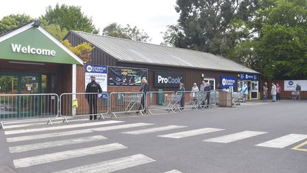 Notcutts in Norwich has reopened after the government eased coronavirus lockdown restrictions. Pictu