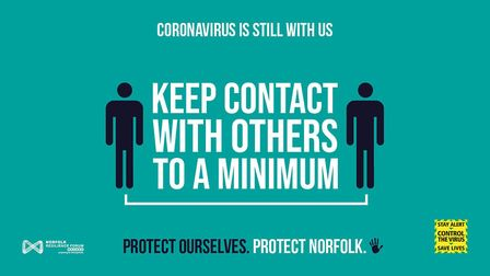 Protect Norfolk campaign poster. Picture: Norfolk County Council