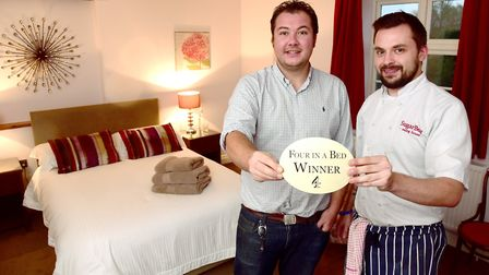 One of Channel 4's Four in a Bed winners is the SugarBeat Eating House in Swainsthorpe. Manager Stev