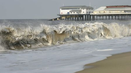 Creamy waves a Cromer to stir hopes of a whirly ice-cream treat along rhe front
