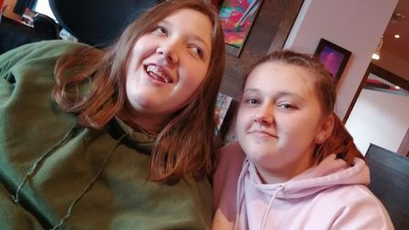 Taylor, 17, from Norwich looks after her sister and says while she can get stressed she has found it