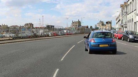 BEFORE: Waveney Road in Lowestoft as it is now, prior to proposed construction. Picture: Jacobs Engi