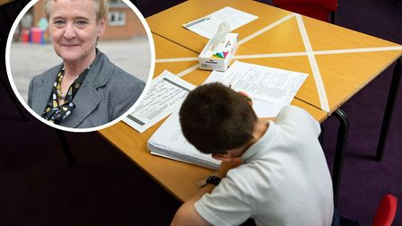 Cawston Primary Academy headteacher Kay Swann, who has written to parents to outline how life in the