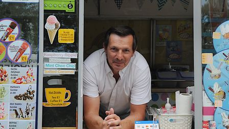 Billy Henderson, who has run an ice cream van on the coast road at Sheringham for six years, said tr