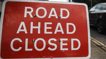 Generic pic of a Road Closed sign Picture: Chris Bishop
