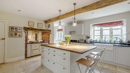 A true Norfolk paradise: Franklins Farm in Lower Bodham near Holt is on the market for 1,850,000. Pi