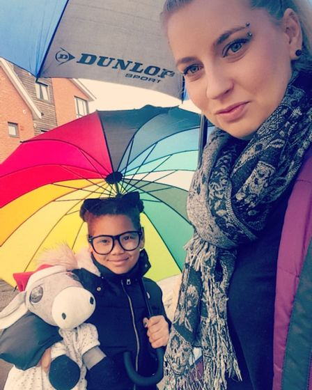 Hana Kromerova is a single parent living with her daughter in Norwich. She said she felt annoyed tha