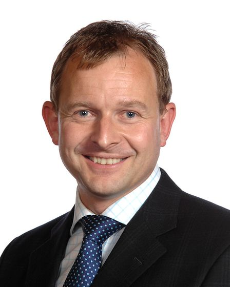 John Fuller, Conservative leader of South Norfolk Council. Picture: South Norfolk Council