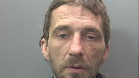 Jeffery Burton, who as been jailed for 20 months Picture: Cambridgeshire Constabulary