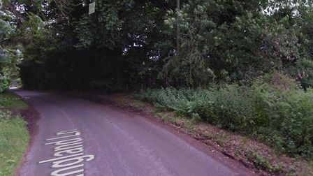 A woman suffered head injuries after a crash on Ringland Lane in Costessey. Picture: Google