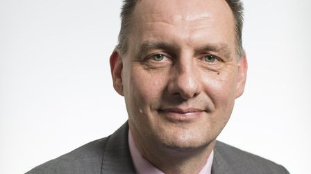 Professor Jonathan Warren, new chief executive of Norfolk and Suffolk NHS Foundation Trust. Picture: