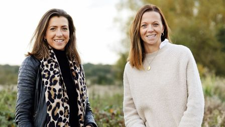 Hicks and Brown founders Alice Leet-Cook and Rosie Turner. Picture: Supplied by Bloxham PR