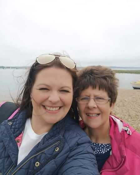 Jemma Thake, left, and her mum, Shirley, who ran the Ark Royal pub in Wells for decades. Picture: Su