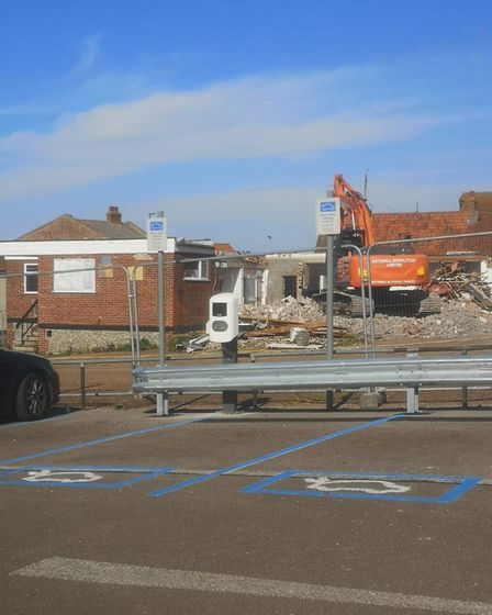 The former Ark Royal pub in Wells, now being demolished. Picture: Supplied by Jemma Thake