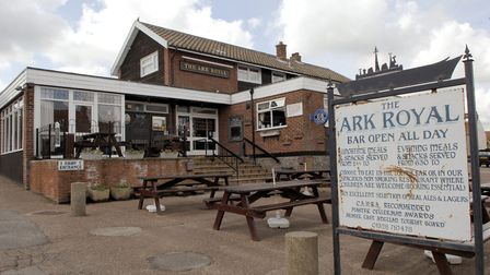 The Ark Royal pub in Wells, in 2009. Picture: Colin Finch