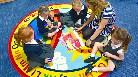 The Charles Darwin Primary School in Norwich will reopen to more priority year children on June 1 bu