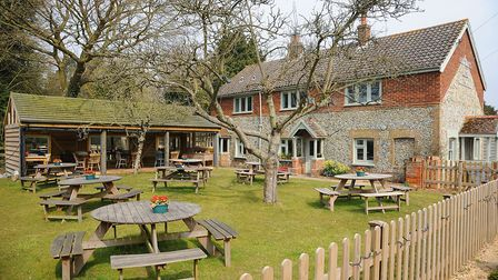 The Duck Inn, Stanhoe, which has been closed because of lockdwn Picture: Ian Burt