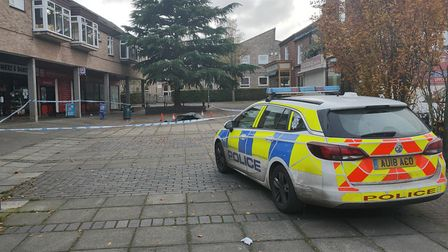 Two men were stabbed after a fight broke out near the Norwich Shopper off Dereham Road. PIcture: Dom