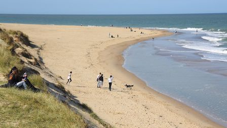 May 2020 was the driest and sunniest May on record in East Anglia. Pictured: People enjoying the bea