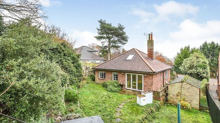 This four-bedroom bungalow off Cotman Road in Norwich is for sale for offers in excess of 450,000. P