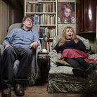GIles and Mary in Gogglebox - their bulging bookshelves have given Paul Barnes an insight into their