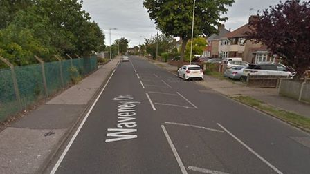 A garage at a home in Waveney Drive, Lowestoft was broken into overnight. Picture: Google Images