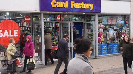 Card Factory. Pic: Archant.