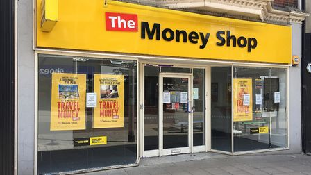 The Money Shop in Lowestoft closed its doors on May 31, 2019. Pictures: Mick Howes