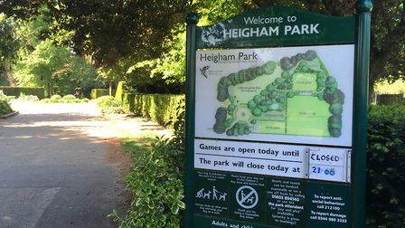 Heigham Park in Norwich. Pic: Dan Grimmer.