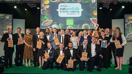 EAT Norfolk Food and Drink Awards 2019 at OPEN Picture: Simon Finlay Photography