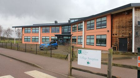 Reepham High School and College, which was built in 2009 on the Reepham High School campus. Picture: