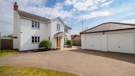 This four-bedroom family home in Upton near Acle is on the market at a guide price of 550,000. Pictu