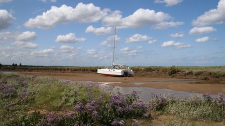 Stiffkey Marshes and Beach. Picture: Martin Sizeland
