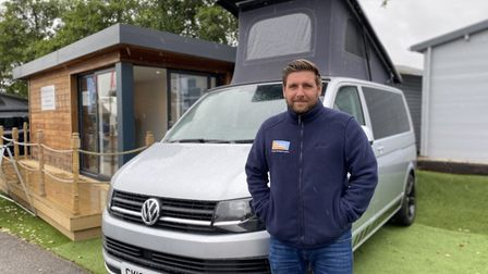 James Hodds, from Waveney Campers and Road Drifter Rentals, a family-run business based at Norwich C