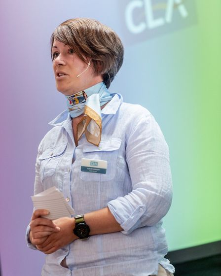 Listen without judging, says CLA Rural Surveyor Claire Wright Picture: CLA/cottages.com