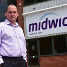 Stephen Fenby, Managing Director of Midwich in Diss, which posted its year-end results this week.