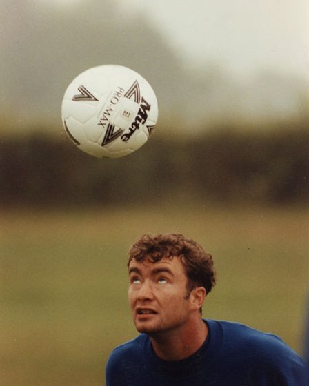 Mike Milligan, NCFC, 13 July 1994. Photo: Archant Library