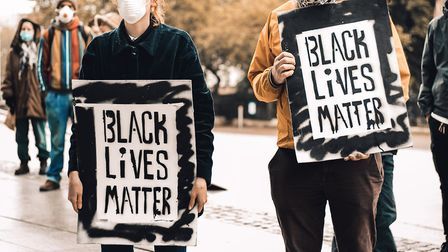 Black Lives Matter protest in Norwich on Sunday, June 7, 2020. Picture: Junior @DN.IMAGERY