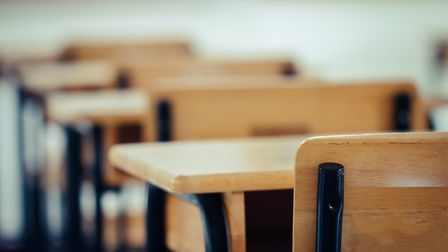 An empty classroom during the coronavirus pandemic. Photo: Getty Images/iStockPhoto