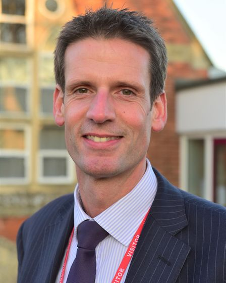 Jim Adams, co-chair of Educate Norfolk which last week wrote an open letter to parents ahead of scho