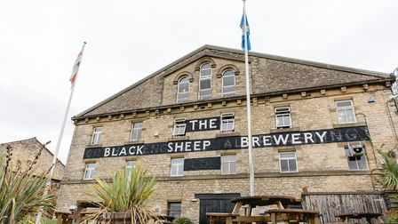 The Black Sheep Brewery in Masham - made with reclaimed materials and five generations of brewing ex