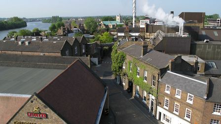 The Fullers Griffin Brewery in West London is one of the best brewery tours around