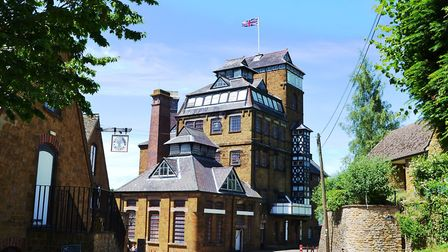 The Grade II listed Hook Norton Brewery in the Cotswolds is every bit as special as it looks