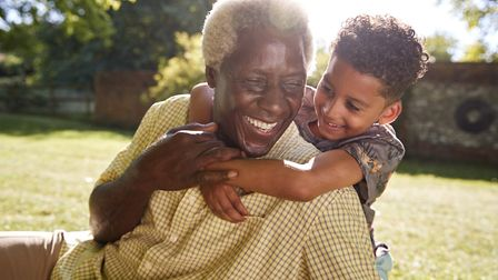 I love my grandad. Picture: Getty Images/iStockphoto/monkeybusinessimages