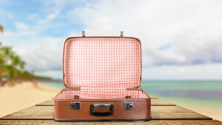 You'll never guess what I had in my suitcase. Picture: Getty Images/iStockphoto/artisteer